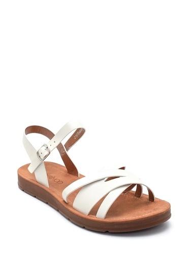 Derimod Sandalet Beyaz